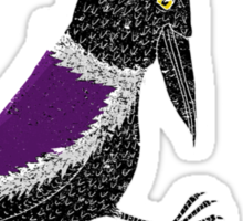 Upstart Crow Sticker