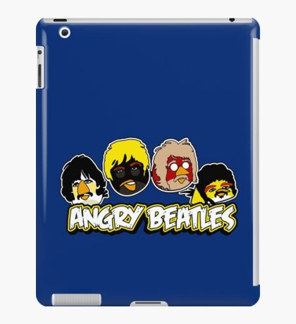 Angry Birds Parody- Angry Beatles - Beatles Parody iPad Case/Skin