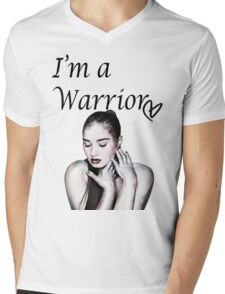 Demi Lovato Warrior Mens V-Neck T-Shirt