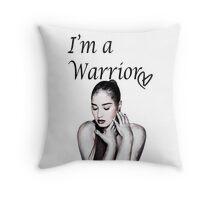 Demi Lovato Warrior Throw Pillow