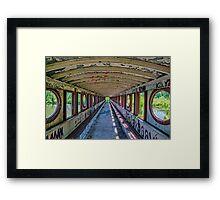 Belle Isle Covered Bridge Framed Print