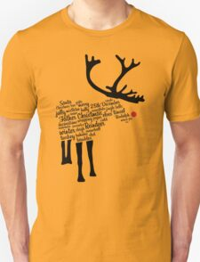 Rudolph Typography T-Shirt