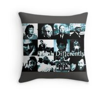 Think Differently  Homeage to Steve Jobs Throw Pillow