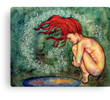 Wash the World Away Canvas Print