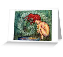 Wash the World Away Greeting Card
