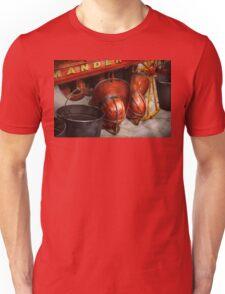 Fireman - Hats - I volunteered for this  Unisex T-Shirt