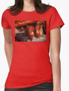 Fireman - Hats - I volunteered for this  Womens Fitted T-Shirt