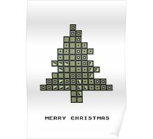 Tetrismas Tree Poster