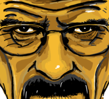 Walter White - Heisenberg - Breaking Bad - T Shirt and more Sticker