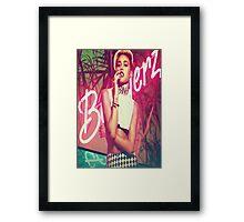Miley Bangerz Framed Print