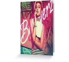 Miley Bangerz Greeting Card