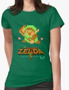 Classic Zelda Womens Fitted T-Shirt
