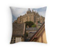 Mont Saint Michel (Normandy, France) Throw Pillow