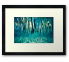 Whispers in The Trees Framed Print