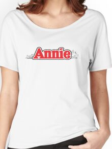 ANNIE - Title with NY Women's Relaxed Fit T-Shirt