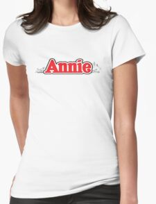 ANNIE - Title with NY Womens Fitted T-Shirt