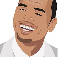 Chris brown Illutration by nouradesign