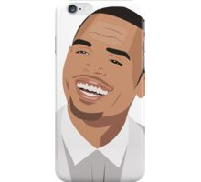 Chris brown Illutration iPhone Case/Skin