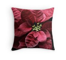 A RED NEW YEAR Throw Pillow
