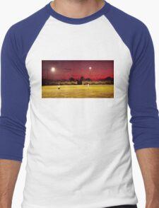 Flylo Until the Quiet Comes  Men's Baseball ¾ T-Shirt