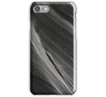 Sandstone Waves in Grayscale iPhone Case/Skin