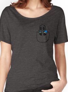 TeamFortress 2 Pocket Pyro (Blue) Women's Relaxed Fit T-Shirt
