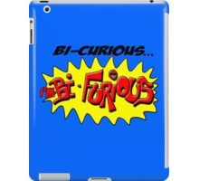 Scott Pilgrim VS The World - Bi- Curious...I'm Bi- Furious iPad Case/Skin