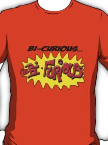 Scott Pilgrim VS The World - Bi- Curious...I'm Bi- Furious T-Shirt