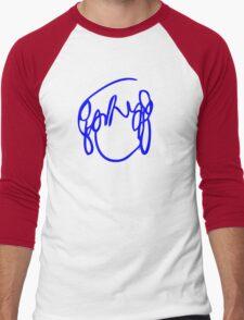 Scott Pilgrim VS the World - Have you seen a girl with hair like this...Ramona Flowers DARK BLUE Men's Baseball ¾ T-Shirt