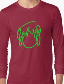 Scott Pilgrim VS the World - Have you seen a girl with hair like this...Ramona Flowers GREEN Long Sleeve T-Shirt