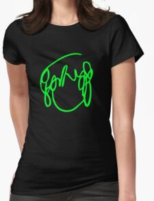 Scott Pilgrim VS the World - Have you seen a girl with hair like this...Ramona Flowers GREEN Womens Fitted T-Shirt