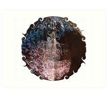 Spherical Swirls Art Print