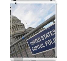 United States Capitol Police iPad Case/Skin
