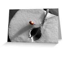 An apple a day keeps the doctor away... Greeting Card