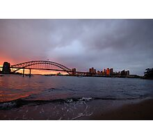 Reflections of Day - Moods Of A City, Sydney Australia Photographic Print