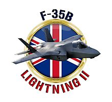 RAF F-35B Lightning II  Photographic Print