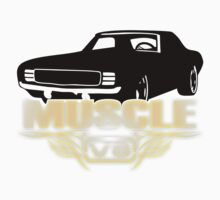 Muscle Car V8 Kids Clothes