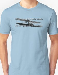 Wrights and Wrongs Unisex T-Shirt