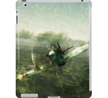 Fantastic World War 2 Hurricane Print / Hurricane in Battle WW2 , Spitfire Battle of Britain iPad Case/Skin