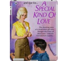 Sexy Pulp Fiction Cover - Reprint of Vintage Pulp Sex Novel iPad Case/Skin