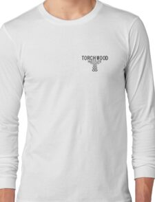 Torchwood employee shirt 1  Long Sleeve T-Shirt