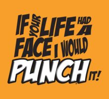 Scott Pilgrim Vs the World If your life had a face I would punch it! by ptelling