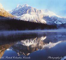 Lake Emerald, British Columbia, Canada by Paul Gilbert