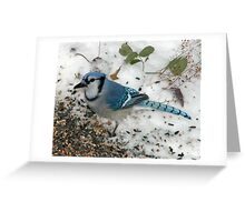 Big Blue Greeting Card