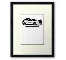 Chrysler PT Cruiser Convertible Framed Print