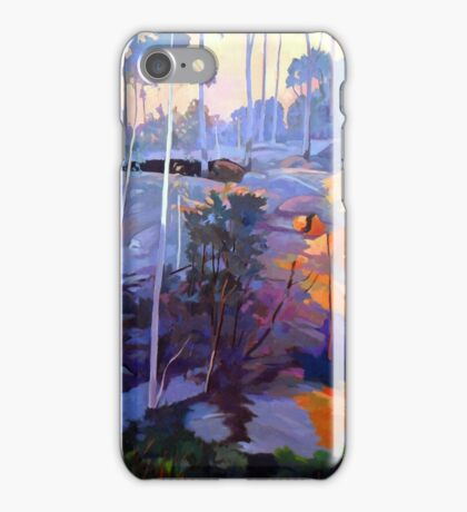 Late afternoon rocks iPhone Case/Skin