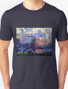 Late afternoon rocks Unisex T-Shirt