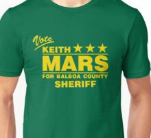 Keith Mars for Sheriff (Color) Unisex T-Shirt