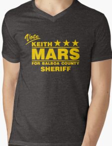 Keith Mars for Sheriff (Color) Mens V-Neck T-Shirt
