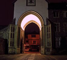 College Gate by daimonic